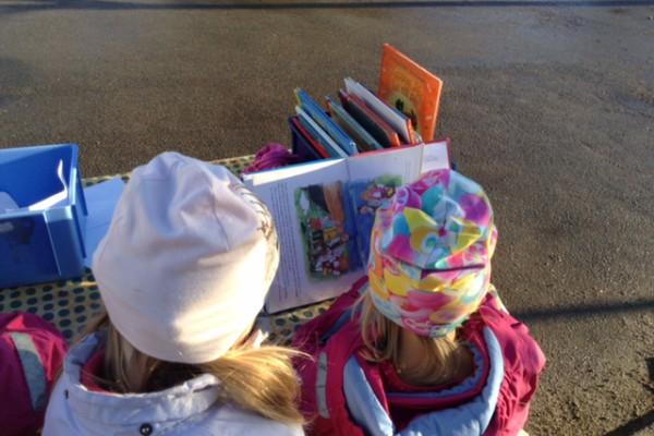böcker på förskolan