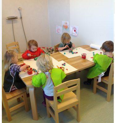 Målarummet på förskolan